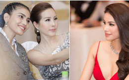 """Sau nghi vấn mâu thuẫn, Phạm Hương và Thu Hoài """"ngó lơ"""" nhau khi chạm mặt tại sự kiện"""