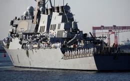 """Đối phó với Triều Tiên, Mỹ cử tuần dương hạm có tên lửa """"mới, đẹp, thông minh"""" tới Nhật Bản"""