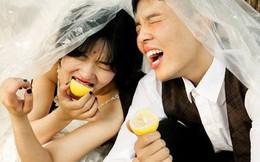 Bộ ảnh cưới mùa hè của cô dâu tóc ngắn đi giày thể thao giúp bạn định nghĩa lại về cái đẹp