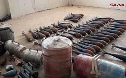 Quân đội Syria phát hiện kho vũ khí khủng của IS ven Damascus