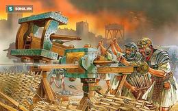 """Bí ẩn """"súng máy"""" bắn tên tự động: Vũ khí quân sự đáng sợ thời cổ đại"""