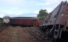 Vụ 2 tàu hỏa đâm nhau ở Quảng Nam: 15h hôm nay thông tuyến đường sắt