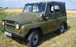 """Ảnh: Sức sống của xe quân sự UAZ """"thần thánh"""""""