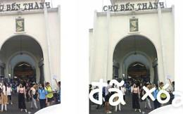 Cô gái mắc sai lầm lớn khi nhờ dân mạng sửa bức ảnh chụp lần đầu tiên ở chợ Bến Thành