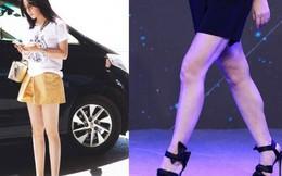 Đôi chân thon nuột tuổi 42 của Triệu Vy gây sốt MXH, nhưng lại là vì photoshop quá đà?