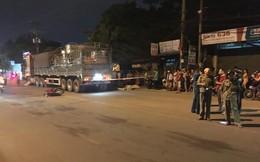 Xe máy đối đầu container, người đàn ông tử vong trên đường về thăm người thân