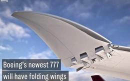 Mẫu máy bay mới của Boeing sẽ sở hữu đôi cánh với khả năng gập vào mở ra