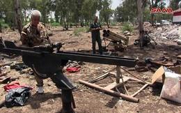 Quân cảnh Syria chiếm giữ kho vũ khí lớn ở cứ địa thánh chiến Rastan