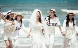 Diệp Lâm Anh tổ chức tiệc chia tay độc thân sang chảnh, nhiều hoa hậu tham gia