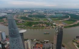 Diện mạo bán đảo Thủ Thiêm - khu đô thị đẹp nhất Sài Gòn nhìn từ trên cao