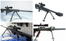 Top 5 súng trường bắn tỉa công phá đáng gờm nhất trên thế giới