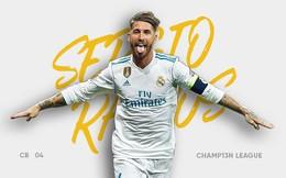"""Sergio Ramos: """"Con quái vật"""" chống lại cả thế giới bằng... hai Quả bóng Vàng"""