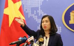 Việt Nam kiên quyết phản đối xâm phạm chủ quyền ở Hoàng Sa, Trường Sa