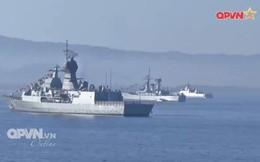 Tàu Hải quân Việt Nam cập cảng Indonesia sẵn sàng tham gia Diễn tập Komodo