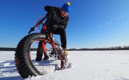 Đến Bắc cực bằng xe đạp