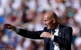 """HLV Zidane giải thích chuyện không có hàng rào danh dự ở """"Siêu kinh điển"""""""