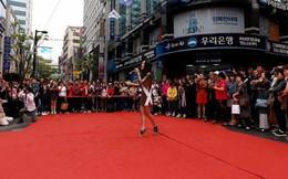 Kiko Chan tự tin hát ca khúc của Chi Pu trên đường phố Hàn Quốc