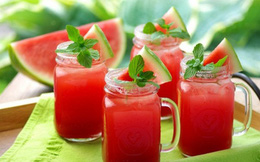 Thực phẩm giải nhiệt mùa nắng nóng
