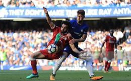 Klopp không hài lòng khi Salah giở trò ăn vạ