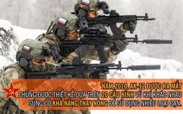 [Photo Story] Từ PPSH-41 đến AK-15: Những khẩu súng huyền thoại và tối tân bậc nhất TG của lính Nga
