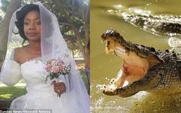 Bị cá sấu cắn đứt một cánh tay, cô gái vẫn quyết tâm làm đám cưới đúng ngày dù phải băng tay hành lễ