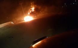 QĐ Syria: Không quân Israel tấn công tên lửa gần Damascus, 2 quả bị đánh chặn