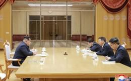 Hé lộ hình ảnh bên trong trụ sở Trung ương Đảng Lao động Triều Tiên