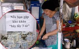 """Những câu chuyện phía sau thùng tiền """"Bạn gặp khó khăn, lấy 3 tờ"""" ở Sài Gòn: Từng có nhóm thanh niên đem bịch nilon tới hốt!"""