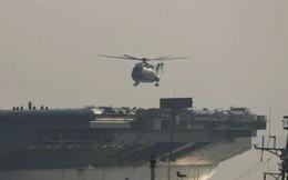 """Trung Quốc """"một công đôi việc"""": Thử tàu sân bay và máy bay trực thăng Z-18"""