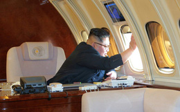 Triều Tiên công bố loạt hình ảnh cận cảnh máy bay chở nhà lãnh đạo Kim Jong-un sang TQ