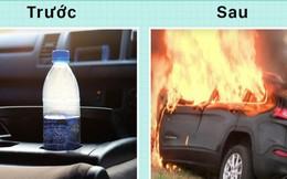 """Vị trí đặt chai nước """"Tử thần"""" trong xe ô tô mà rất nhiều người thường mắc phải"""
