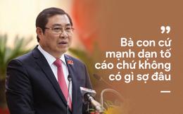 """Chủ tịch Đà Nẵng Huỳnh Đức Thơ: """"Tôi cũng bị đe dọa"""""""