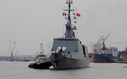 Tàu chiến hiện đại 3.600 tấn của Hải quân Pháp tới TP.HCM
