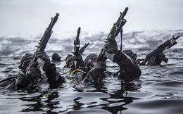 Đặc nhiệm Vệ binh Quốc gia Nga huấn luyện tiêu diệt khủng bố ở Bắc cực