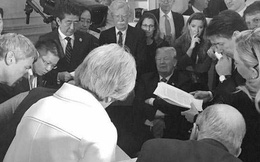 Đại chiến đọ ảnh tại G7: 5 phiên bản, 5 câu chuyện đối lập