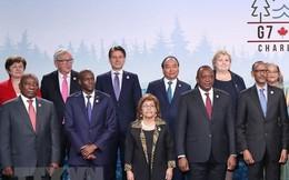 Thủ tướng Nguyễn Xuân Phúc đề xuất nhiều sáng kiến tại thượng đỉnh G7 mở rộng
