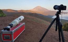 Với ống tele kính siêu khủng này, ngắm trăng ở trái đất mà cứ như đang ở một hành tinh khác