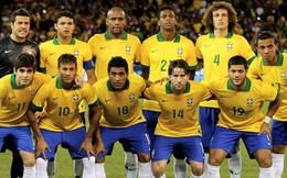 Tuyển Brazil có lương cao nhất World Cup 2018