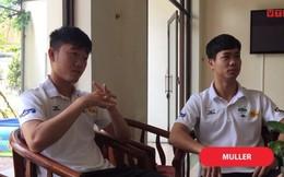 Video: Xuân Trường, Công Phượng trả lời sai 'bét nhè' về World Cup