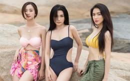 Jun Vũ, Hòa Minzy, Sỹ Thanh mặc bikini, đọ vẻ nóng bỏng