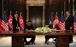 Vì sao ông Kim Jong-un dùng bút em gái đưa để ký thỏa thuận chung?