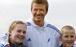 Phát sốt hình ảnh vợ chồng Harry Kane gặp Beckham 13 năm trước