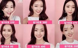Nhan sắc khiến công chúng giật mình của 50 ứng cử viên Hoa hậu Hàn Quốc 2018
