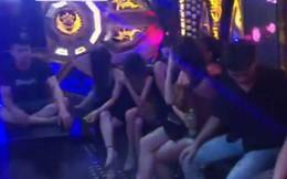"""Nữ sinh viên """"bay lắc"""" cùng 8 thanh niên trong quán Karaoke"""