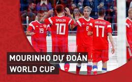 """Mourinho """"soi kèo"""" World Cup: Saudi Arabia không cùng đẳng cấp với Nga"""