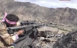 """Súng bắn tỉa phương Tây """"phản chủ"""": Houthi bắn hạ hơn 400 lính liên quân Saudi Arabia"""