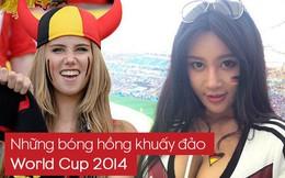 [PHOTO STORY]: Các fan nữ xinh đẹp, nóng bỏng nổi bật trên các khán đài World Cup 2014 giờ ra sao?