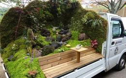 Ở Nhật Bản có hẳn một cuộc thi trưng bày cảnh quan nhà vườn ngay trên xe tải vô cùng độc đáo