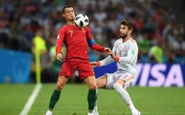 Gerard Pique gây bão với chỉ trích gay gắt ném vào Ronaldo