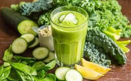 Điều gì xảy ra khi bạn uống sinh tố rau quả mỗi sáng